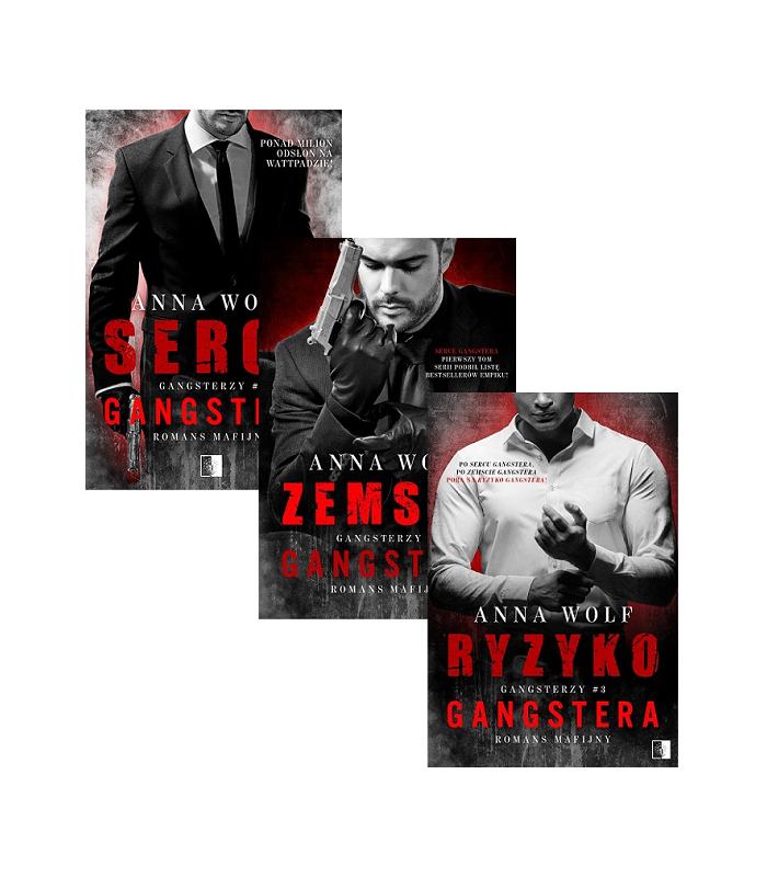 Serce gangstera + Zemsta gangstera + Ryzyko Gangstera - wersje kieszonkowe (pocket)