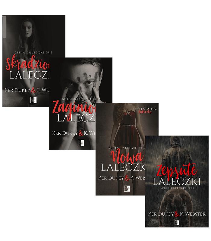 Skradzione laleczki + Zaginione laleczki + Nowa laleczka + Zepsute laleczki
